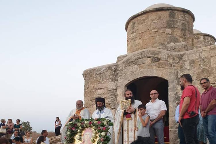 Εορτή Αγίας Μαρίνας στη νεκρή ζώνη της Κύπρου