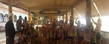 Τα παιδιά πρώτης σχολικής ηλικίας στις κατασκηνώσεις της Μητροπόλεως Λευκάδος