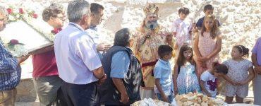 Εορτή της Αγίας Κυριακής στο Σιδηρόκαστρο Μάνης (ΦΩΤΟ)