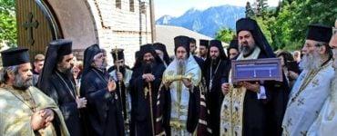 Επιστροφή Λειψάνου Αγίου Πολυκάρπου στη Μονή Αμπελακιωτίσσης Ναυπακτίας
