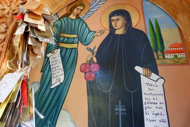 Εορτή Αγίας Ειρήνης Χρυσοβαλάντου στη Μητρόπολη Πέτρας