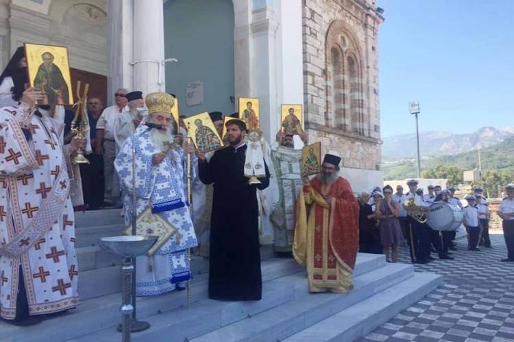 Λαμπρός εορτασμός των Σαμίων Αγίων στη Σάμο