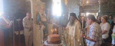 Εορτή Αγίας Ειρήνης Χρυσοβαλάντου στην Άνδρο