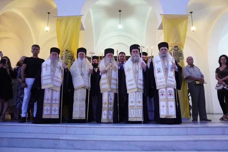 Εορτασμός Αγίου Νικοδήμου του Αγιορείτου στη Νάξο