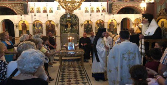 Εορτή Αγίας Μαρίνης στη Μητρόπολη Θηβών