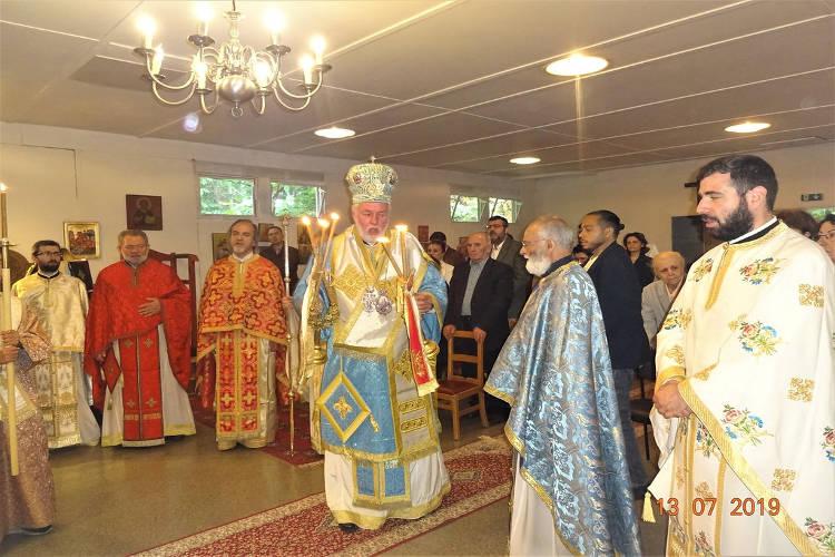 Η εορτή του Αγίου Παϊσίου στο Βέλγιο