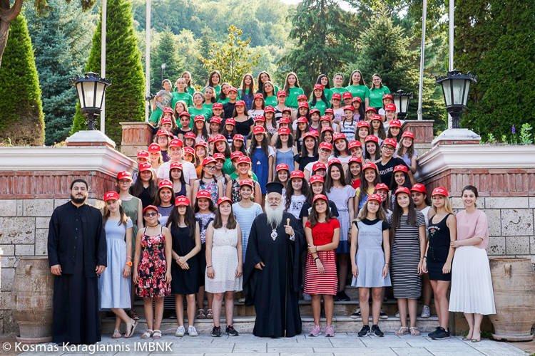 Γ΄ Περίοδος φιλοξενίας κοριτσιών στη Μονή Παναγίας Δοβρά στη Βέροια (ΦΩΤΟ)