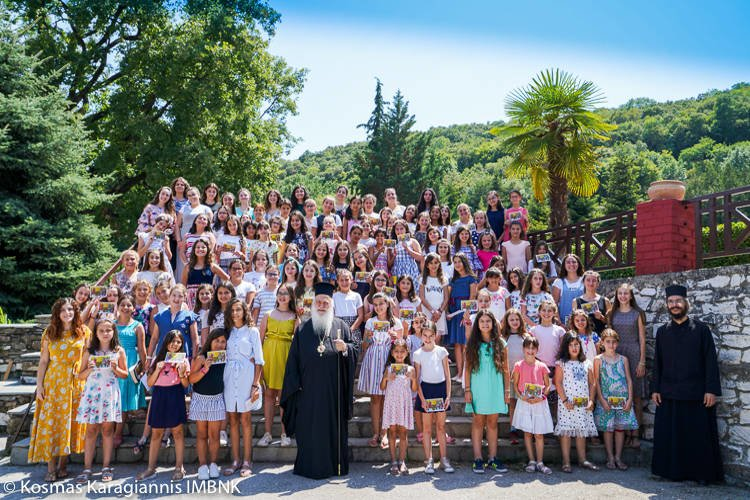 A΄ Περίοδος φιλοξενίας κοριτσιών στη Μονή Παναγίας Δοβρά Βεροίας (ΦΩΤΟ)