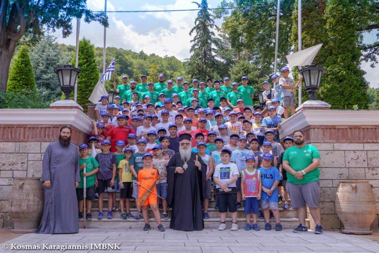 Β΄ Περίοδος φιλοξενίας αγοριών Δημοτικού στη Μονή Παναγίας Δοβρά Βεροίας (ΦΩΤΟ)