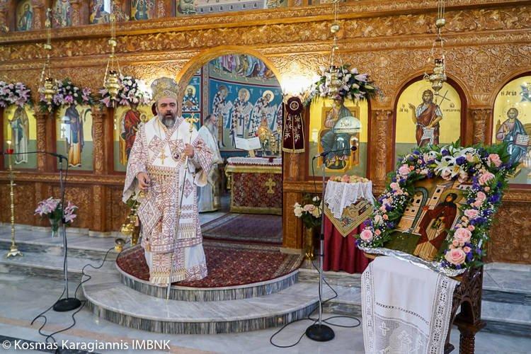 Εορτή Αγίας Ειρήνης της Χρυσοβαλάντου στη Μητρόπολη Βεροίας (ΦΩΤΟ)