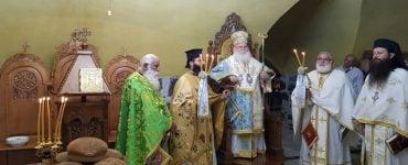 Εορτή Αγίων Δώδεκα Αποστόλων στο Πατριαρχείο Ιεροσολύμων