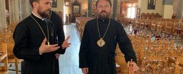 Πατριαρχείο Μόσχας: Ολοκληρώθηκε η προσκυνηματική μετάβαση του Μητροπολίτου Βολοκολάμσκ στην Ελλάδα