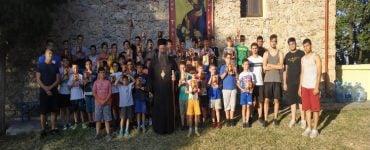 Παιδικές Κατασκηνώσεις στο Μοναστήρι Αγίου Γεωργίου Ρητίνης (ΦΩΤΟ)