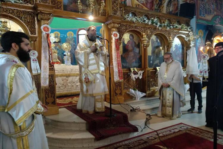 Εορτή της Αγίας Μαρίνας στη Μητρόπολη Νέας Ιωνίας (ΦΩΤΟ)
