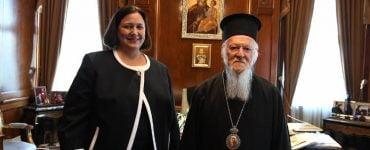 Η νέα Γενική Πρόξενος των ΗΠΑ στο Οικουμενικό Πατριαρχείο