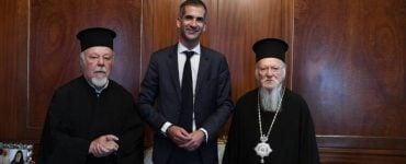 Ο νέος Δήμαρχος Αθηναίων στο Οικουμενικό Πατριαρχείο (ΦΩΤΟ)