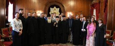 Καθηγητές και Φοιτητές από Θεολογικές Σχολές της Ουκρανίας στο Οικουμενικό Πατριάρχη (ΦΩΤΟ)
