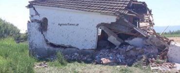 Αγρίνιο: Ιερόσυλοι γκρέμισαν Εκκλησάκι του Αγίου Νικολάου (ΦΩΤΟ-ΒΙΝΤΕΟ)