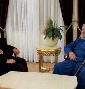 Άφιξη Πατριάρχη Αλεξανδρείας στην Κύπρο