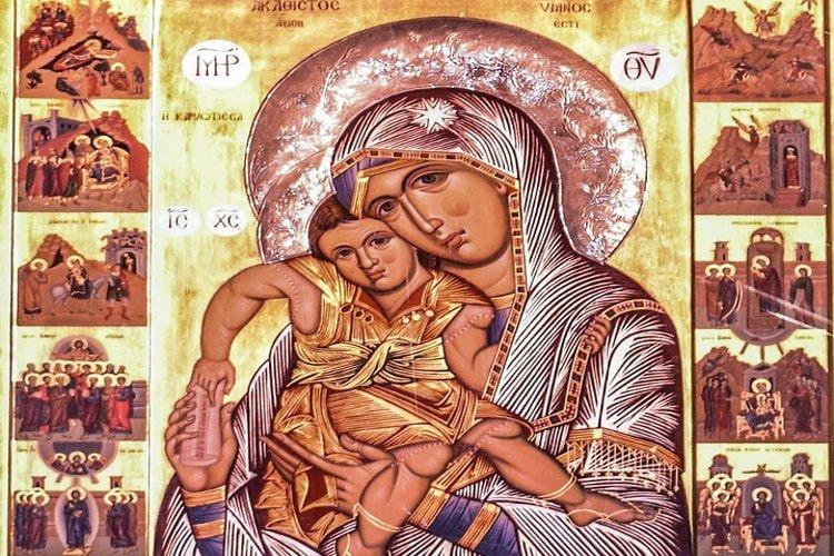 Εγκώμια Παναγίας στη Μονή Γηροκομητίσσης Πατρών Πανήγυρις Παναγίας Βουτών Ηρακλείου