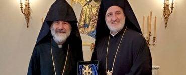 Ο Αρχιεπίσκοπος Ελπιδοφόρος συναντήθηκε με τον Αρχιεπίσκοπο της Αρμενικής Εκκλησίας