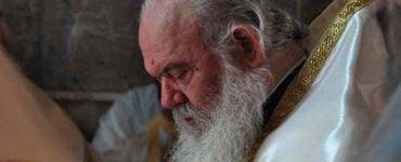 Απαντητική επιστολή Αρχιεπισκόπου Ιερωνύμου στον Πατριάρχη Ιεροσολύμων
