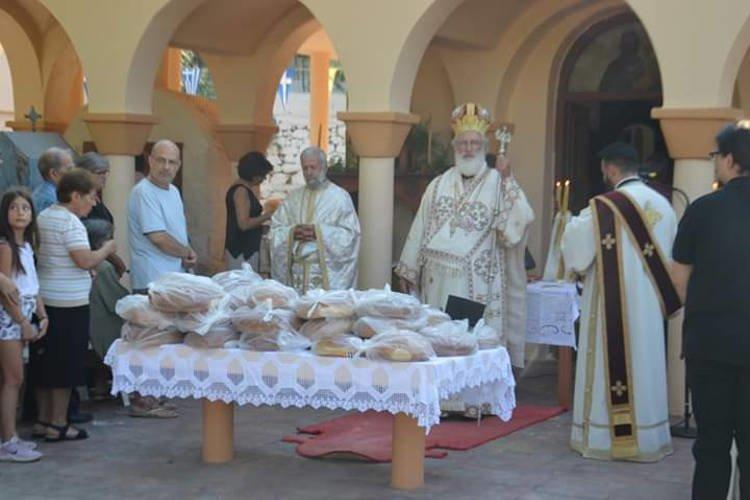 Εορτή της Κοιμήσεως της Θεοτόκου στη Μητρόπολη Αρκαλοχωρίου