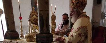 Ο Μητροπολίτης Αρκαλοχωρίου στην Εξαρχία του Πατριαρχείου Αλεξανδρείας στην Κύπρο