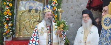 Δεκαπενταύγουστος στην Ιερά Μονή Εικοσιφοινίσσης