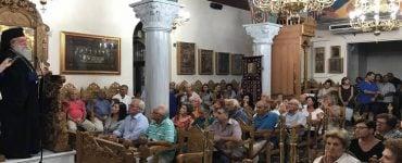 Ο τελευταίος Παρακλητικός Κανών στην Παναγία Νέας Ηρακλείτσης (ΦΩΤΟ)