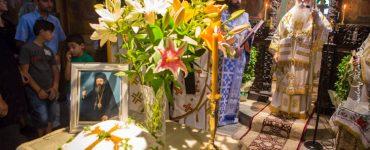 Λαμπρή Αρχιερατική Θεία Λειτουργία στη Μονή Παναγίας Αγάθωνος