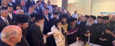 Ορκωμοσία Αρναουτάκη από τον Αρχιεπίσκοπο Κρήτης