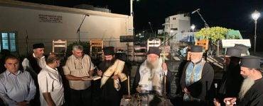 Αγιασμός πλατείας Μικρασιατών στην Ιεράπετρα