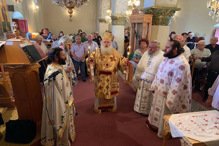 Εορτή της Αγίας Ζώνης στους Μύθους Ιεράπετρας
