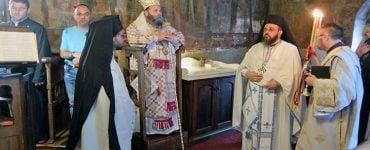 Αρχιερατική Θεία Λειτουργία στη Μονή Τσούκας Ιωαννίνων