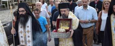 Υποδοχή και παραμονή Τιμίας Κάρας Αγίας Παρασκευής στη Μητρόπολη Καρπενησίου