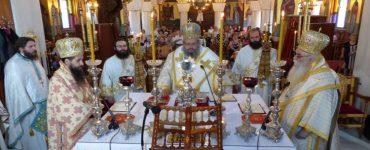 Εορτή Αγίου Νικάνορος στην Μητρόπολη Καστοριάς (ΦΩΤΟ)