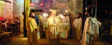 Αγρυπνία στην ιστορική Μονή Μαυριωτίσσης Καστοριάς (ΦΩΤΟ)