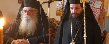 Δισαρχιερατικός Εσπερινός στην Μονή Παναγίας Φανερωμένης Καστοριάς (ΦΩΤΟ)
