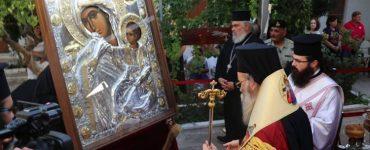 Η Κίσαμος υποδέχτηκε την Παναγία Παραμυθία