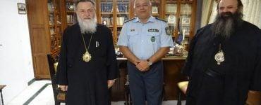 Νέος Αστυνομικός Διευθυντής Κορινθίας στον Μητροπολίτη Κορίνθου