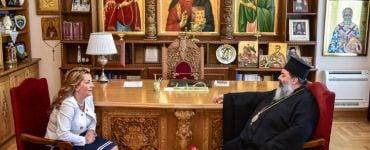 Η επικεφαλής του Γραφείου του Πρωθυπουργού στον Μητροπολίτη Λαγκαδά (ΦΩΤΟ)