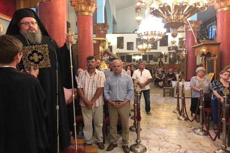 Πρώτη Παράκληση στην Θεοτόκο στη Μητρόπολη Λαρίσης