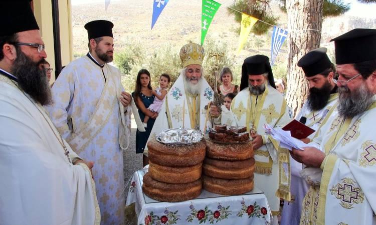 Η Εορτή του Αγίου Φανουρίου στη Λέρο