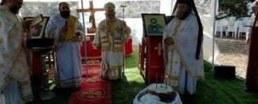 Αρχιερατική Θεία Λειτουργία στη Δροσοπηγή Λακωνίας