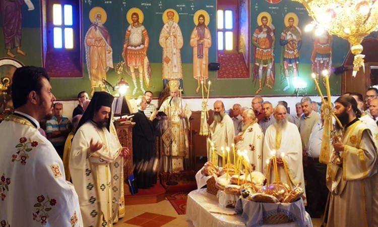 Η θερινή πανήγυρη Αγίου Βλασίου στη Μητρόπολη Ναυπάκτου (ΦΩΤΟ)