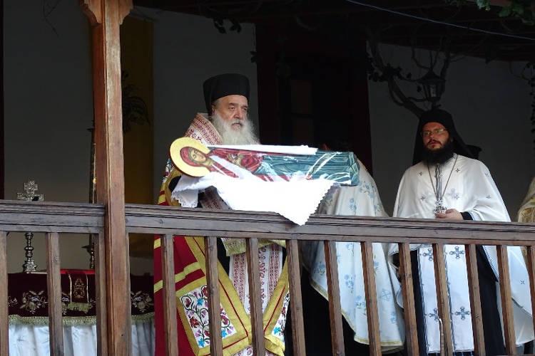 Λαμπρά εόρτασε η ιστορική Μονή Μεγάλης Παναγιάς Σάμου