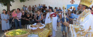 Εορτή της Μεταμορφώσεως του Σωτήρος στο Μετόχιο της Μονής Πανορμίτου