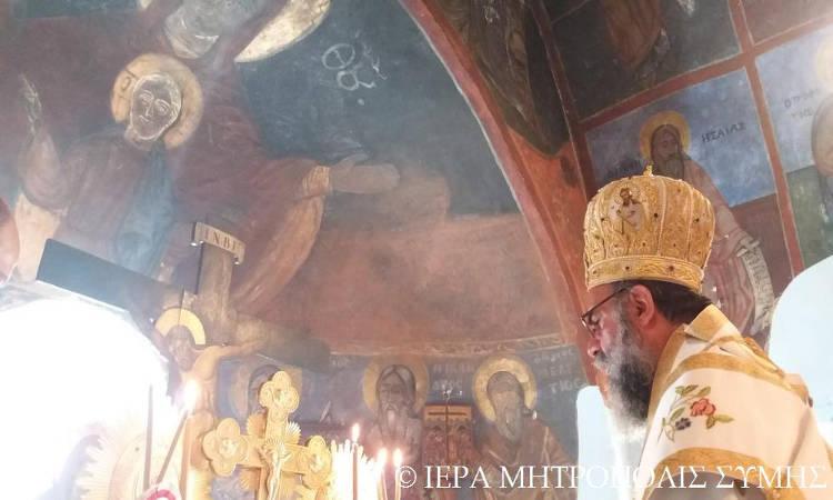 Σύμης Χρυσόστομος: Ανάγκη ευχαριστίας του ανθρώπου προς τον Πανάγαθο Θεό