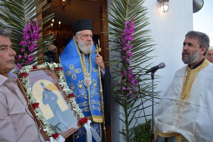 Θυρανοίξια Παρεκκλησίου Αγίου Εφραίμ στην Τήνο